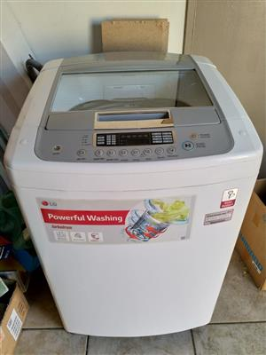 LG 14kg top loader washing machine