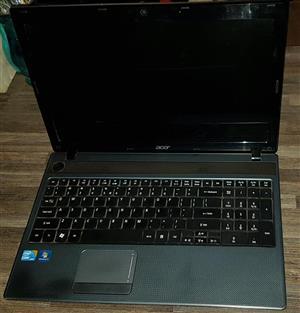 Acer Aspire 5733 laptop for sale