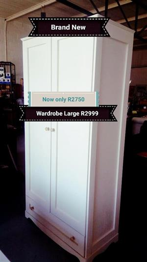 White large wardrobe for sale
