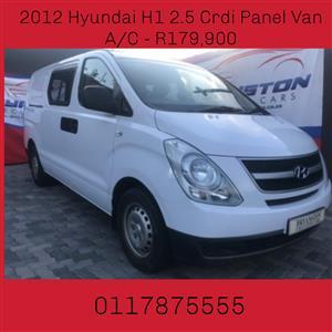 2012 Hyundai H1 H 1 2.5CRDi panel van