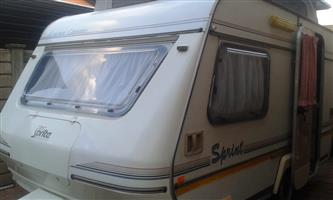 sprite sprint with full tent and rally tent in excellent condition must be seen