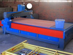 R-2030LC/40 EasyRoute 380V Lite 2050x3050mm Aluminium T-Slot Clamping CNC Router, 4kW