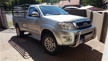 2011 Toyota Hilux single cab HILUX 2.7 VVTi RB S P/U S/C