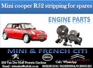 Engine parts On Big Special for Mini Cooper R52