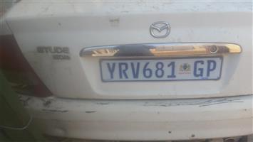 Mazda Etude striping for spares