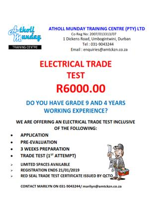 Electrical Trade Test Special - R6000