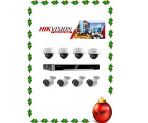 CCTV SYSTEM - NETWORK IP 8 channel