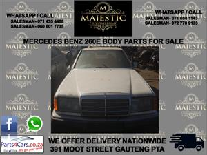 Mercedes Benx E260 used spares for sale