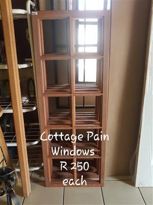 Cottage Pain Windows