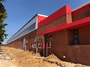SAMRAND: BRAND NEW LARGE DISTRIBUTION CENTRE / FACTORY / WAREHOUSE TO LET!!