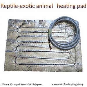 Reptile and Exotic animal heating mats
