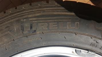 """VW 16"""" second hand tyres with rims"""