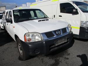 2012 Nissan NP300 Hardbody 2.5TDi double cab