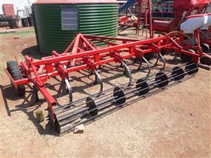 cultivator with roller