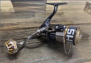 Shimano Stella 4000FE Spinning reel Gomexus upgrade - as new immaculate and spotless