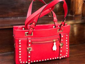 Ladies Red Handbag - New