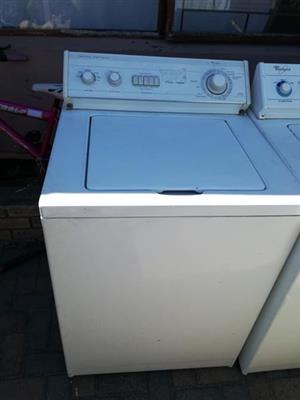 Selling 13kg top loader Whirlpool washing machines
