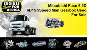 Mitsubishi Fuso 6.9D 6D15 5Speed Man Gearbox Used For Sale.