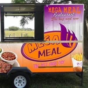 Mega Meal Franchise Mobile trailer
