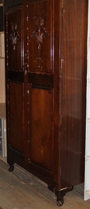 2 door antique wardrobe S030613A #Rosettenvillepawnshop