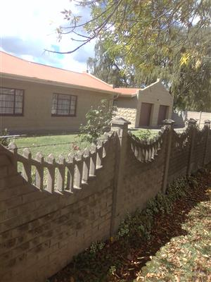A stunning family home in Central Harrismith next to all amenities.