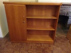 Cherry finish cabinet