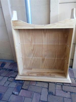pine-wood book shelf for sale- R850-CALL 0835367295