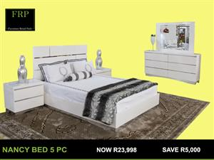 NANCY 5 PC Bedroom suite for sale
