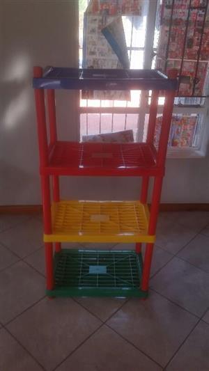 4 Tier kiddies shelf for sale