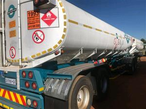 WANTED: Fuel Tanker Trailer