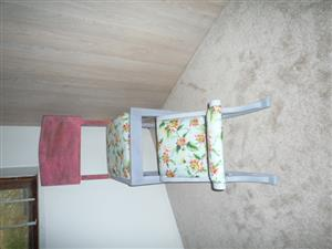 Chair & Foot stool set