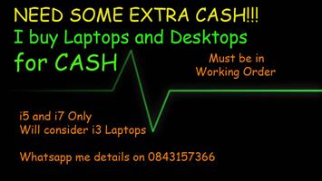 Computers and Laptops for CASH