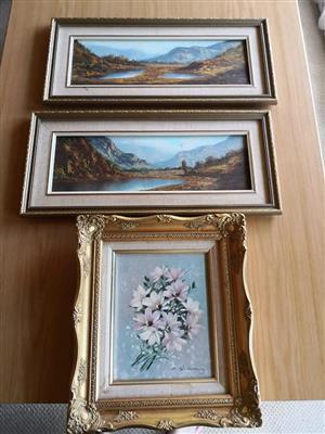 Framed paintings for sale