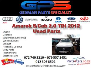 VW Amarok Single Cab 2.0 TDI 2012 Used Parts for Sale