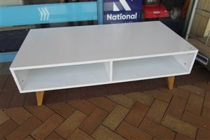 Wooden Coffee Table - White
