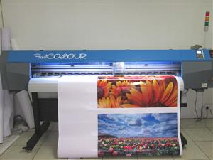 F-1860/AQUA FastCOLOUR 1860mm Large-Format Water Based Dye or Pigment Ink Inkjet Printer