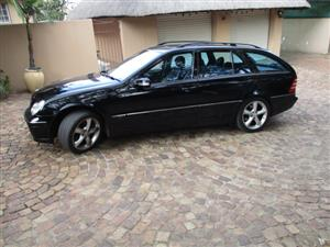 2005 Mercedes Benz C Class C200 Kompressor estate Elegance