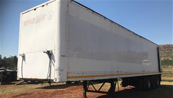 Box body ex Spar trailer