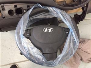 Hyundai i10 airbag