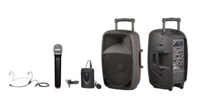 Portable PA System - Battery & Mains