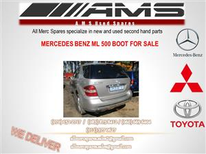 MERCEDES BENZ ML 500 BOOT FOR SALE