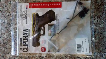 Glock Original Clipdraw. Purchased End April 2018.R300