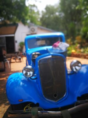 1934 in Classic Cars in South Africa | Junk Mail
