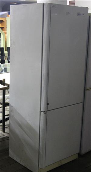 KIC white 2 door fridge S037165A #Rosettenvillepawnshop