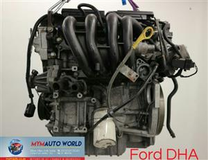 Imported used FORD ZETEC SE-SEFI 1.25L, DHA, Complete second hand used engine
