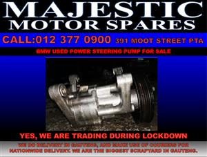 Bmw used power steering pump for sale