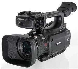 Xf100 canon camera professional