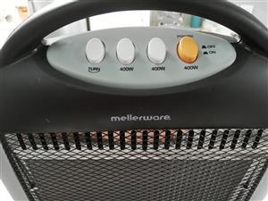 Mellerware - 1200W 3 Bar Halogen Heater