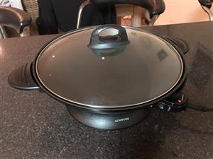 Kenwood electric wok for sale
