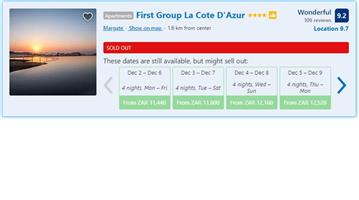 La Cote D Azur in Margate Holiday for Sale
